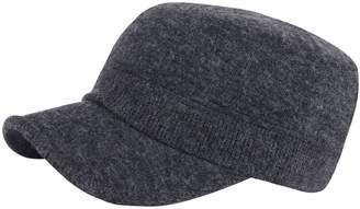 at Amazon Canada · RaOn A190 Army Cap Plain Winter Unisex Simple Design  Golf Club Cadet Military Hat c1e2fa11add7