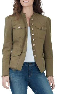 William Rast Bragg Military Jacket