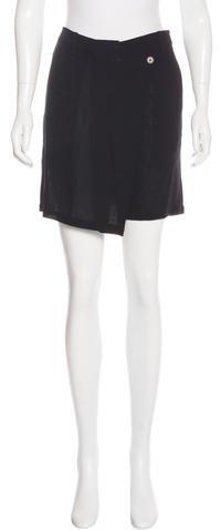 Ann DemeulemeesterAnn Demeulemeester Virgin Wool Wrap Shorts