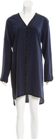 Alexander WangT by Alexander Wang Silk Knee-Length Dress