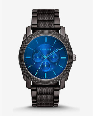 Express rivington multi-function laser crystal watch