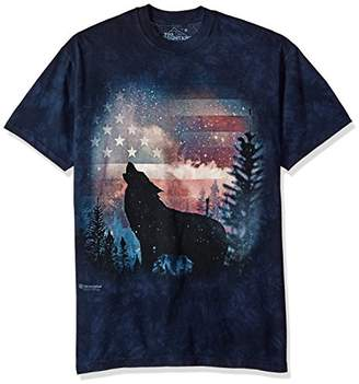 The Mountain Men's Patriotic Howl Tee