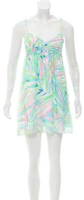 Lilly Pulitzer Silk Mini Dress