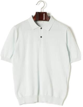 Ballantyne (バランタイン) - BALLANTYNE 半袖ニットポロシャツ グリーン 52