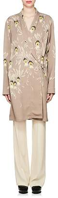 Dries Van Noten Women's Floral Washed Satin Jacket