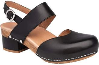 Dansko Closed Toe Leather Mary Janes - Malin