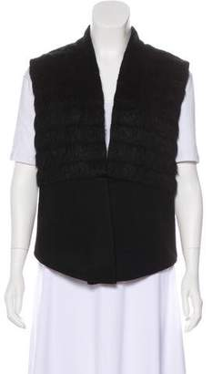 Waverly Grey Sleeveless Knit Vest