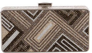 Judith Leiber Crystal Embellished Minaudière $525 thestylecure.com