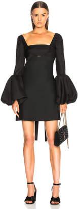 Valentino Off Shoulder Cutout Mini Dress