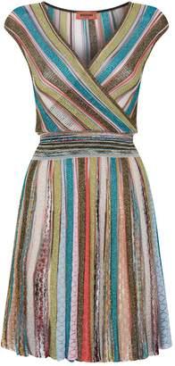Missoni Pleated Lurex Dress