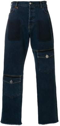 J.W.Anderson multi-pocket denim trousers