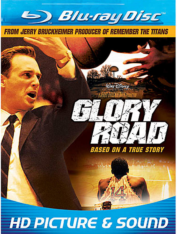 Disney Glory Road Blu-ray DVD