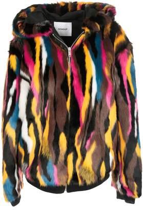 Dondup Patterned Faux Fur Jacket