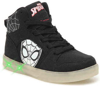 Marvel Spiderman Youth Light-Up High-Top Sneaker - Boy's