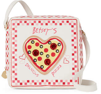 Betsey Johnson Kitsch Pizza Crossbody