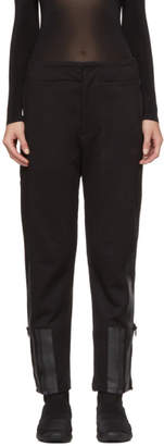 Y-3 Black Bold Three-Stripes Lounge Pants