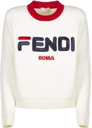 Fendi Fila X Logo Sweater