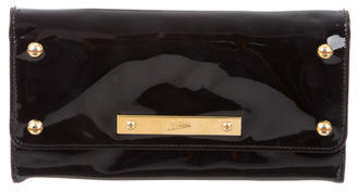 Jean Paul Gaultier Patent Leather Continental Wallet $95 thestylecure.com