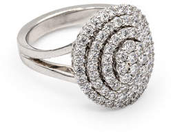 Leo Pizzo Iconic Must Have 18k White Gold Diamond Ring