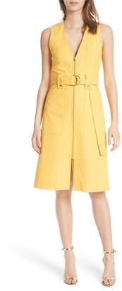 Diane von Furstenberg Zip Front A-Line Dress