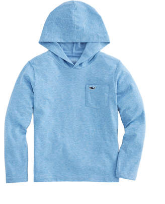 e3b282bb Vineyard Vines Boys Long-Sleeve Performance Edgartown Hoodie T-Shirt