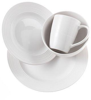 CLOSEOUT! Gibson Wall Street 16-Piece Dinnerware Set