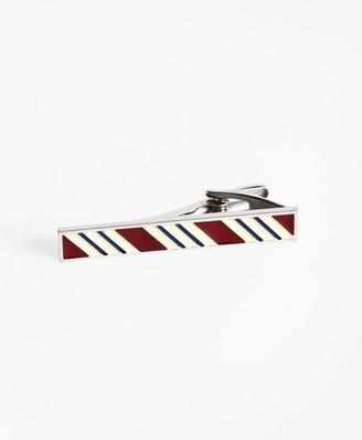 Brooks Brothers BB#1 Stripe Tie Bar