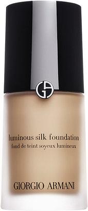 Armani Women's Luminous Silk Foundation $64 thestylecure.com