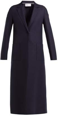 Harris Wharf London Pressed Wool Overcoat - Womens - Navy