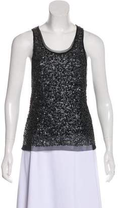 Gryphon Sleeveless Embellished Top