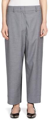 Alberta Ferretti Women's Plaid Wool-Blend Pants