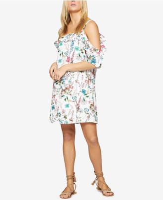 Sanctuary Primrose Cold-Shoulder Floral-Print Dress