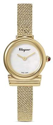 Salvatore Ferragamo Gancini Slim Watch, 22mm
