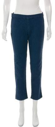 Etoile Isabel Marant Mid-Rise Quilted Pants
