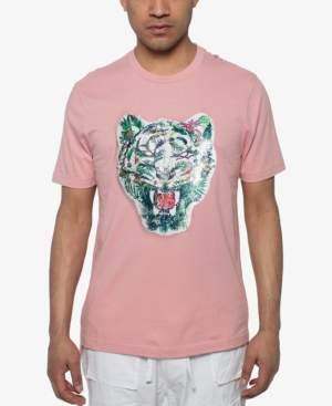 Sean John Men's Tropic Tiger Sequin Graphic T-Shirt