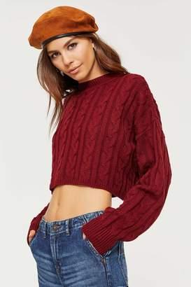Ardene Boxy Cropped Sweater