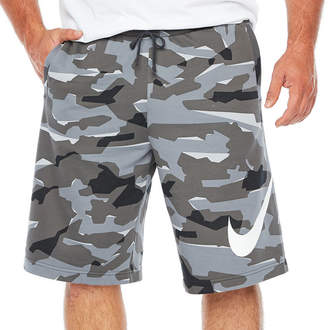 Nike French Terry Workout Shorts Big and Tall