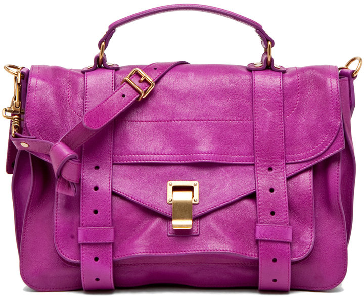 Proenza Schouler PS1 Medium in Orchid