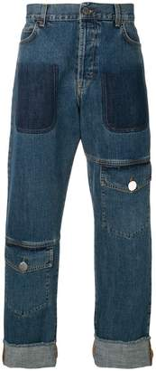 J.W.Anderson pocket detail regular jeans