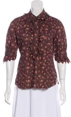 Kenzo Printed Short Sleeve Top