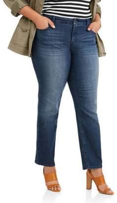 Just My Size Women's Plus Classic Jean Petite