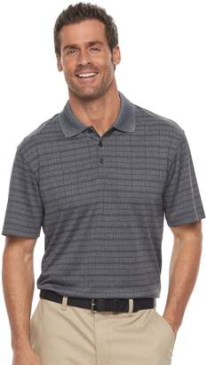 Haggar Men's Cool 18 Regular-Fit Windowpane Performance Polo