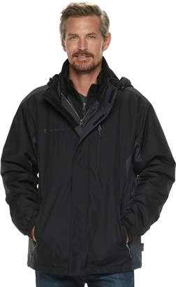 Free Country Big & Tall 3-in-1 Systems Ripstop Jacket