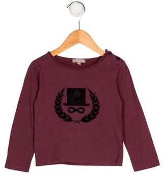 Emile et Ida Boys' Appliqué-Accented Knit Shirt