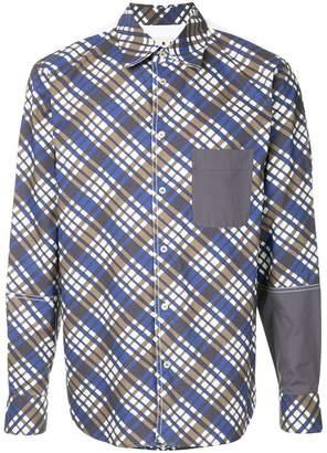 Marni check print shirt