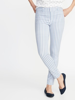 Old Navy Mid-Rise Printed Pixie Full-Length Pants for Women
