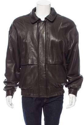 Andrew Marc Leather Flight Jacket