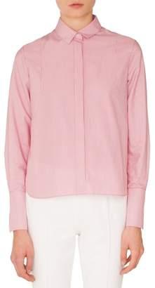Akris Punto Stripe Cotton Shirt