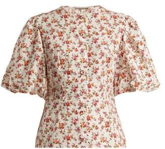 Emilia Wickstead Selena floral-print blouse