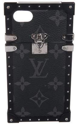 Louis Vuitton Monogram Eclipse Eye-Trunk iPhone Case